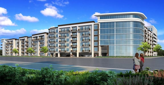 Rendering of Reverie at River Hollow apartments