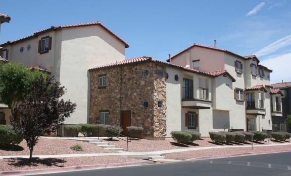 Exterior Building Side Palmilla North Las Vegas Nevada